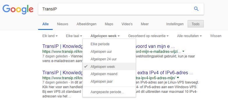 Vermeldingen van je product of bedrijf ontdekken met Google