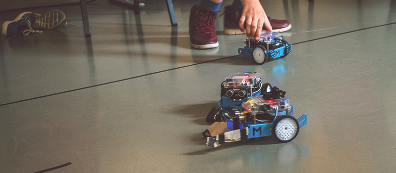 Workshop met mBots