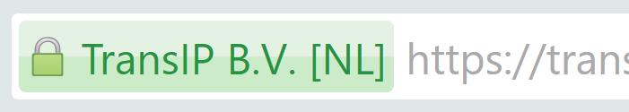 SSL-certificaat EV