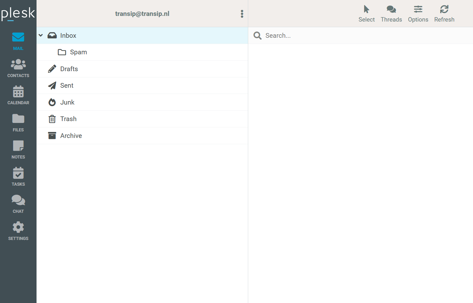 plesk coop webmail