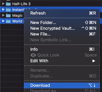 webdav-download